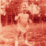 Bruce in the diaper - 1954